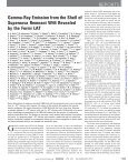 Gamma-Ray Emission from the Shell of Supernova Remnant W44 ... - Page 2