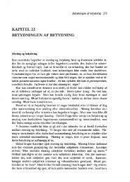 KAPITEL22 BETYDNINGEN AF BETYDNING - engelsted.net