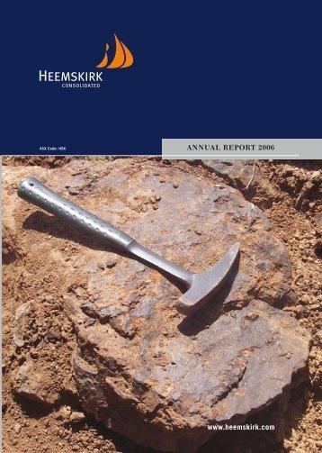 2006 Annual Report - Heemskirk