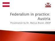 Federalism in Austria
