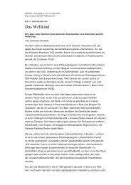 Das Weltkind - Rijnland weblog
