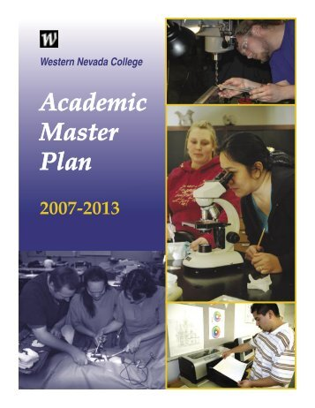 Academic Master Plan - Western Nevada College