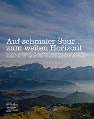 Die 10 schönsten Nebelfluchten - Sentiero.ch