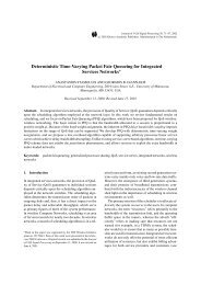 Deterministic Time-Varying Packet Fair Queueing for Integrated ...