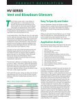HV SERIES Vent Silencers HIGH-PERFORMANCE ... - Universal - Page 2