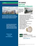 HV SERIES Vent Silencers HIGH-PERFORMANCE ... - Universal - Page 4