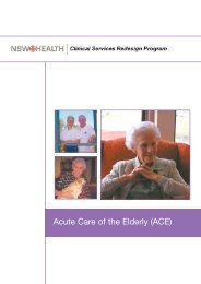 Acute Care of the Elderly (ACE) - ARCHI