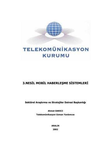 Ahmet DARICI - Telekomünikasyon Kurumu