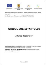 Ghidul Solicitantului -