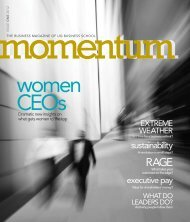 Issue 1 - UQ Business School Momentum - UQBS.com