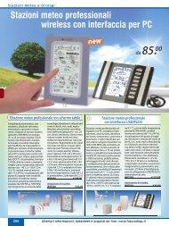 Stazioni meteo professionali wireless con ... - Futura Elettronica
