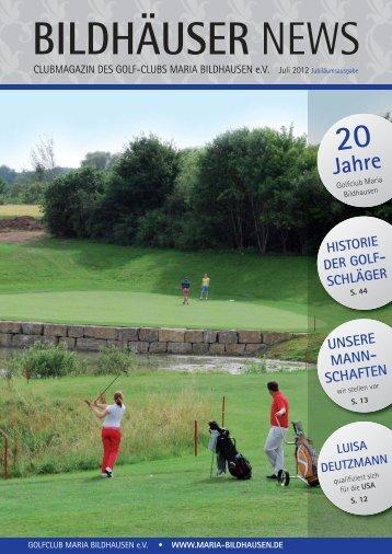 SCHAFT DER HERREN - Golfclub Maria Bildhausen