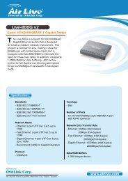 Live-800G v2 - AirLive