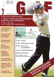 Saisonstart 2005 Start of season 2005 - Golf am Niederrhein