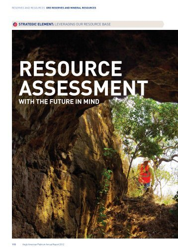 ore reserves and mineral resources 2012 report - Anglo Platinum