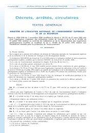 décret n° 2006-1346 du 7 novembre 2006