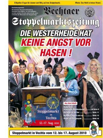 stoppelmarkt in vechta - Vechtaer Stoppelmarktszeitung