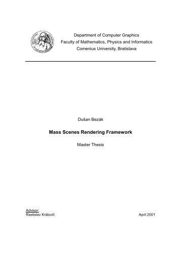 Master Thesis (pdf) - KSP