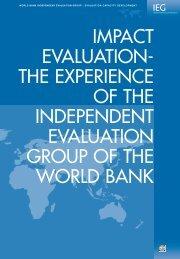 Impact Evaluation - World Bank Internet Error Page AutoRedirect