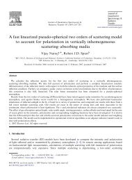 A fast linearized pseudo-spherical two orders of scattering model to ...
