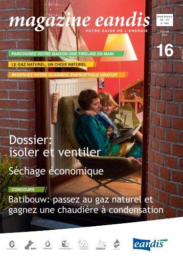 Magazine Eandis 16 - Février 2011