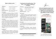 Redes de Banda Ancha Introducción a las publicaciones