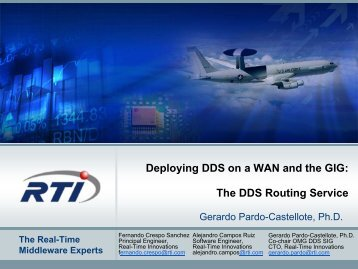 The DDS Router