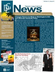 Volume 4, Issue 6 - Davis Law Group Newsletter - July/August 2010