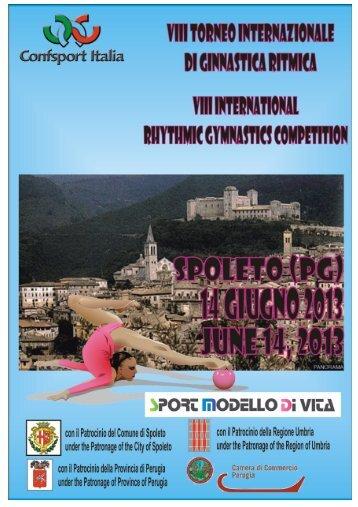 VII Trofeo Internazionale di Ginnastica Ritmica - Confsport Italia