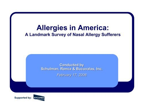 Findings for Adults, Full Results - World Allergy Organization