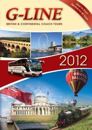 2012 British & Continental Coach Tours - G-Line