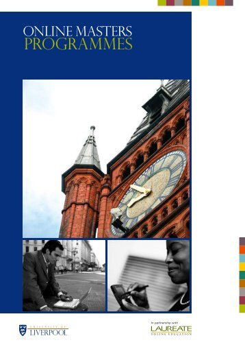 Online Masters Programmes - About Us - University of Liverpool