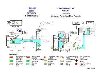 EVACUATION PLAN G/F & M/F Assembly Point: Yuet ... - Safety.hku.hk