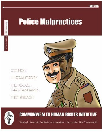 Police Malpractices_final_mehroon - Commonwealth Human Rights ...