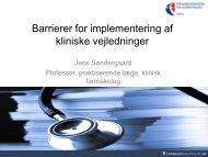 Se Jens Søndergaards præsentation (pdf) - Gigtforeningen
