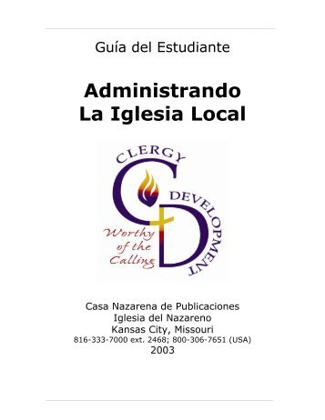 Administrando La Iglesia Local - USA / Canada Region