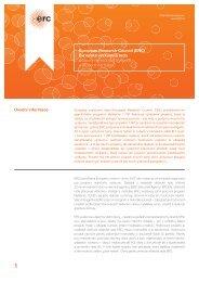 Úvodní informace European Research Council (ERC ... - 7. RP