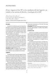 Segunda época / Número 50 / 2012 - Publicaciones - Universidad ...