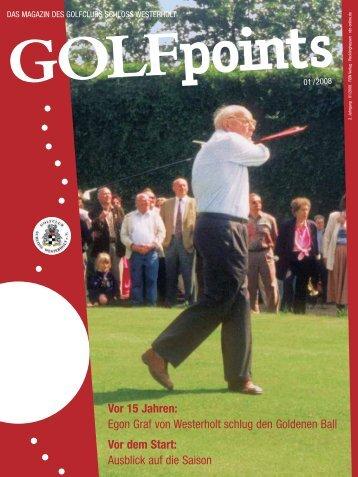 golfpoints 1_08 TL okay.qxd - Golfclub Schloss Westerholt eV