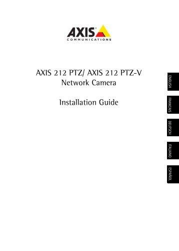 AXIS 212 PTZ - IP Way