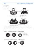 AXIS 212 PTZ - IP Way - Page 4