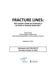 FRACTURE LINES: - The Globe and Mail