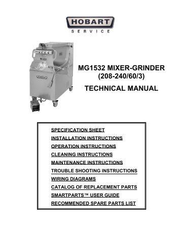 Hobart Technical Manual