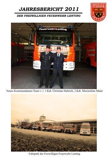 jahresberichte_files/Jahresbericht 2011.pdf - Feuerwehr Lenting
