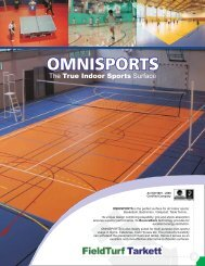 OMNISPORTS Brochure - Great Sports Infra