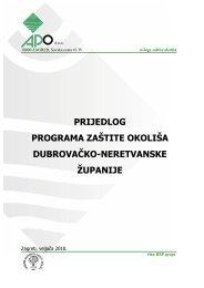 prijedlog programa zaštite okoliša dubrovačko-neretvanske županije