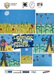 cartellone estivo - programma - Comune di Castenaso