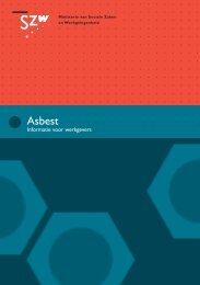 Asbest - Inspectie SZW