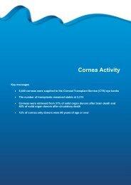 Section 10 - Cornea activity - Organ Donation