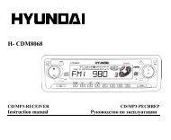 H- CDM8068 - Hyundai Electronics